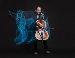 Mike Block, cellist, performs with traditional Chinese musicians MARCH CONCERTS CANCELLED