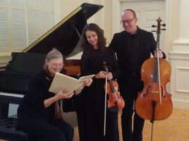 Essex Piano Trio at Crane Library